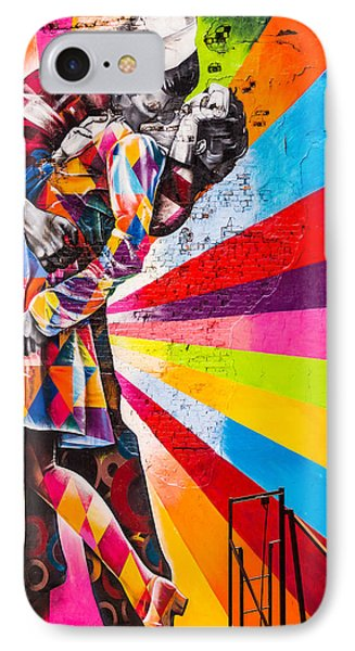 The Colorful Kiss IPhone Case
