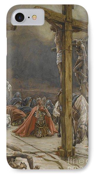 The Confession Of Saint Longinus IPhone Case