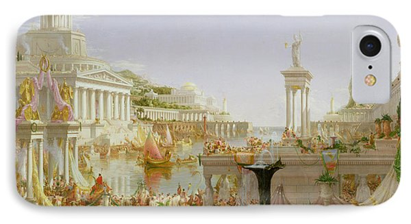 The Course Of Empire - The Consummation Of The Empire IPhone Case