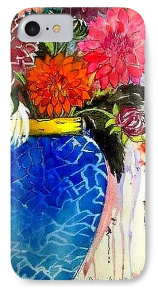 The  Dahlias IPhone Case