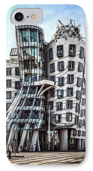 The Dancing House IPhone Case