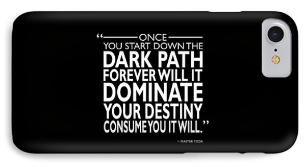 The Dark Path IPhone Case