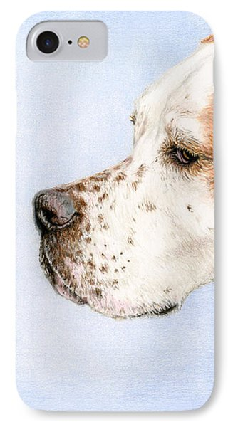 The Dog And The Butterfly IPhone Case