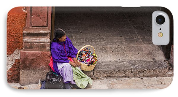 The Doll Peddler IPhone Case
