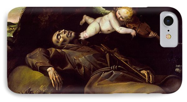 The Ecstasy Of Saint Francis IPhone Case