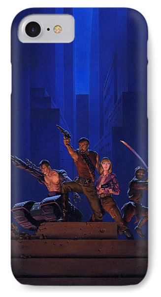 Knight iPhone 8 Case - The Eliminators by Richard Hescox