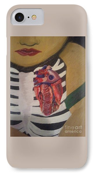 The Exposed Heart Of An Angel IPhone Case