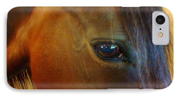 The Eye Of Beauty IPhone Case