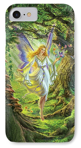 Fairy iPhone 8 Case - The Fairy Queen by Mark Fredrickson