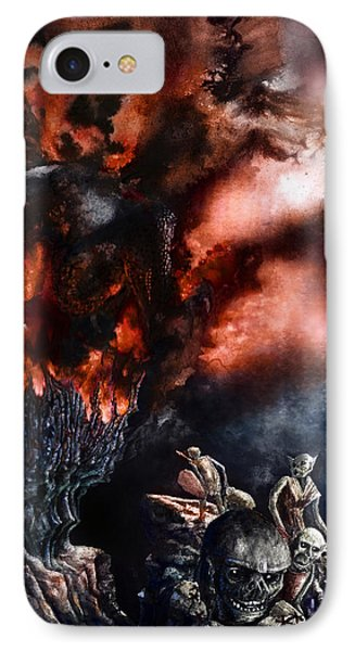 The Fall Of Azturath IPhone Case
