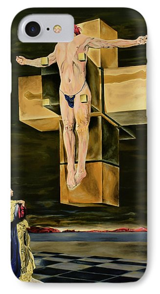 The Father Is Present -after Dali- IPhone Case
