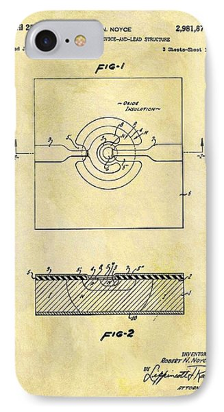 The First Computer Chip Patent IPhone Case