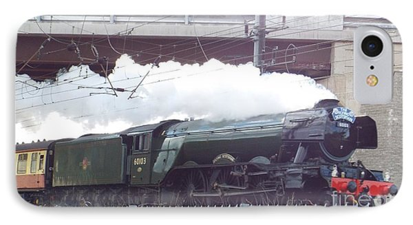 The Flying Scotsman IPhone Case