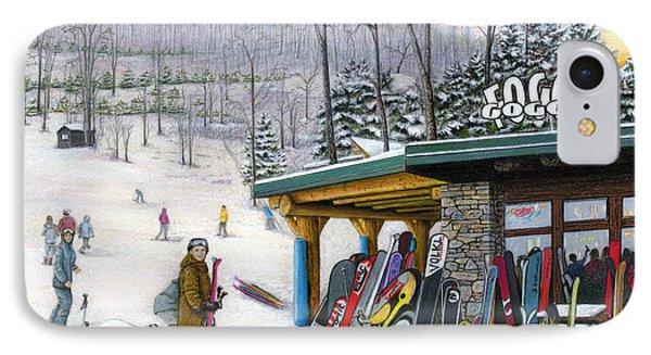 The Foggy Goggle At Seven Springs IPhone Case