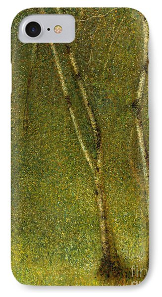 The Forest At Pontaubert, 1881 IPhone Case