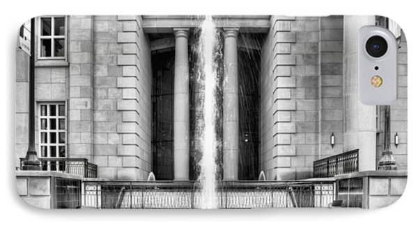 The Fountain At Trent Lott National Center IPhone Case