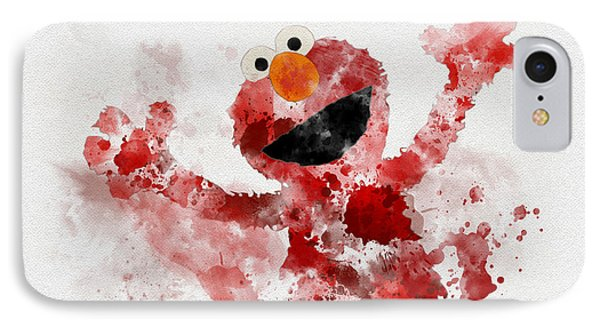 The Furry Red Monster IPhone Case