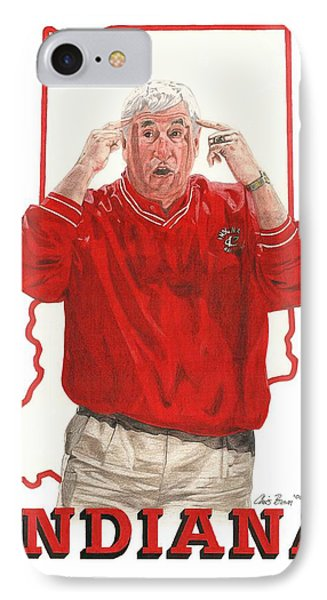 The General Bob Knight IPhone Case