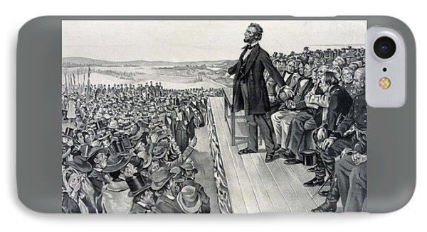 The Gettysburg Address IPhone Case