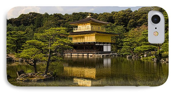 The Golden Pagoda In Kyoto Japan IPhone Case