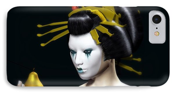 The Golden Pear IPhone Case