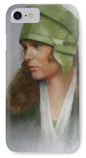 The Green Hat IPhone Case