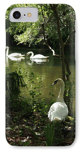 The Guard Swan IPhone Case
