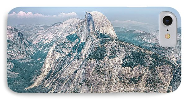 The Half Dome Yosemite Np IPhone Case