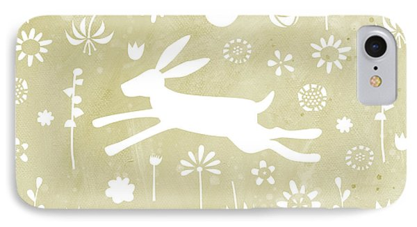 The Hare In The Meadow IPhone Case