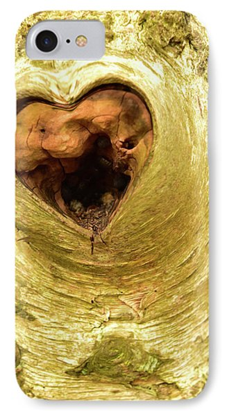 The Heart Of The Tree IPhone Case