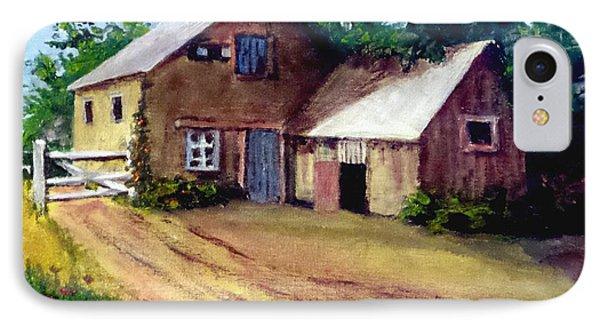 The House Barn IPhone Case