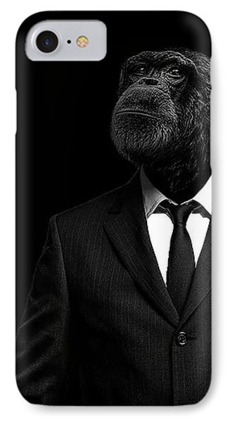Portraits iPhone 8 Case - The Interview by Paul Neville