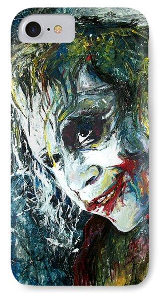 The Joker - Heath Ledger IPhone Case