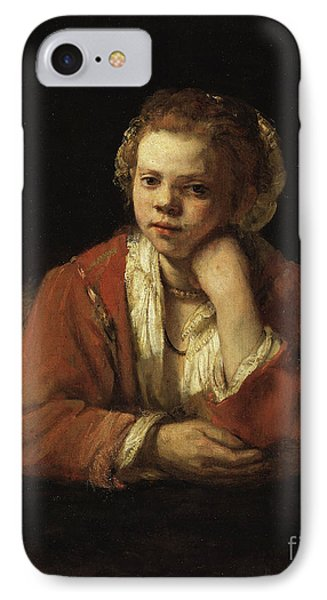 The Kitchen Maid, 1651 IPhone Case