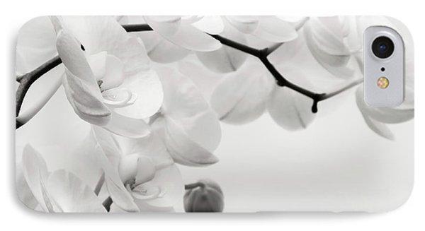 Orchid iPhone 8 Case - The Last Orchid by Wim Lanclus