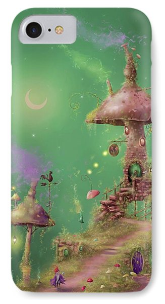 The Mushroom Gatherer IPhone Case