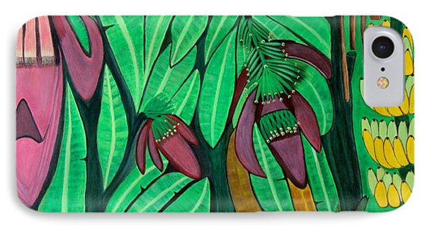 The Magic Of Banana Blossoms IPhone Case