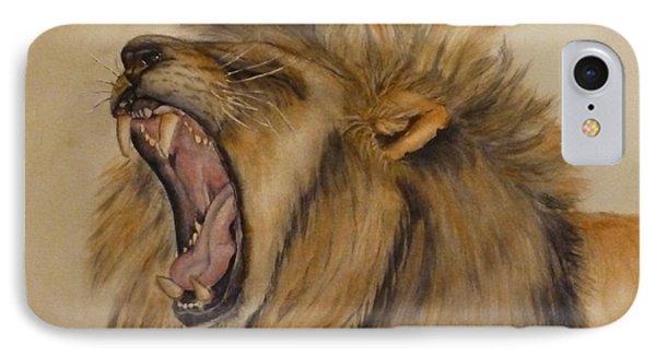 The Majestic Roar IPhone Case