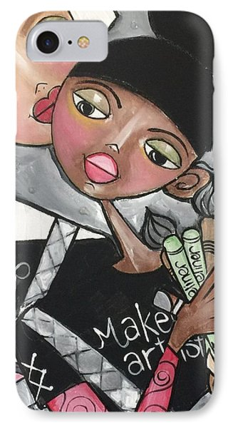 The Makeup Artist IPhone Case