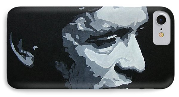 The Man In Black IPhone Case