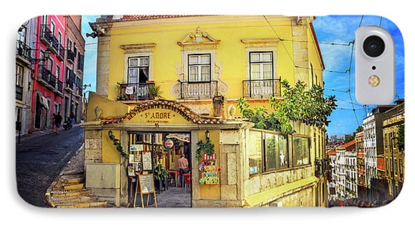 The Many Colors Of Lisbon Old Town  IPhone Case