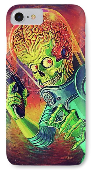 The Martian - Mars Attacks IPhone Case