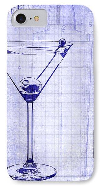 The Martini Blueprint IPhone Case