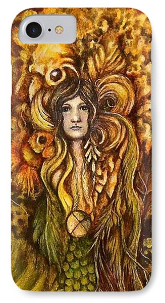 The Mermaid Who Could Fly IPhone Case