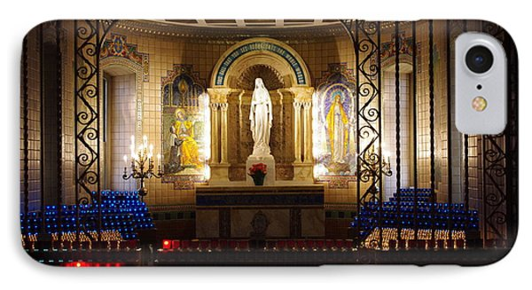 The Miraculous Medal Shrine IPhone Case