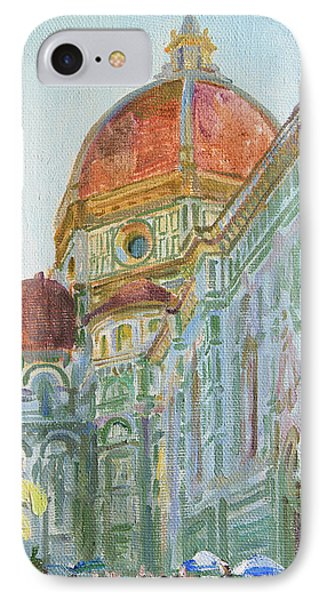 The Morning In The Cathedral Square IPhone Case