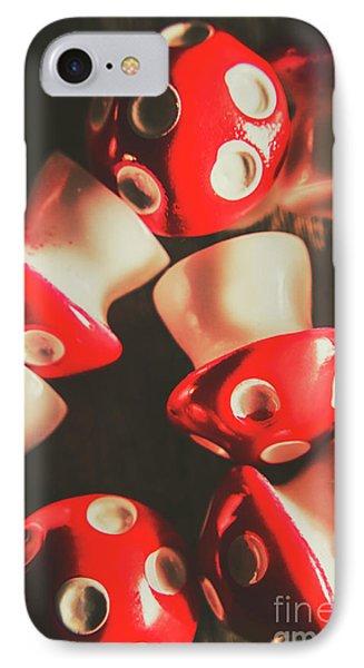 The Mushroom Stack IPhone Case