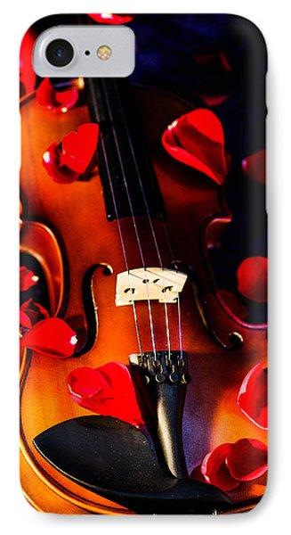 The Musical Rose Petals IPhone Case