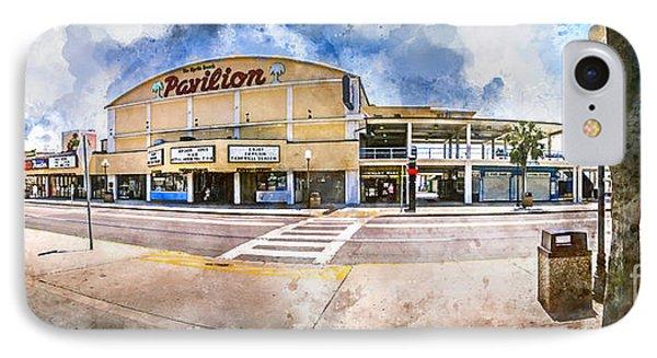 The Myrtle Beach Pavilion - Watercolor IPhone Case