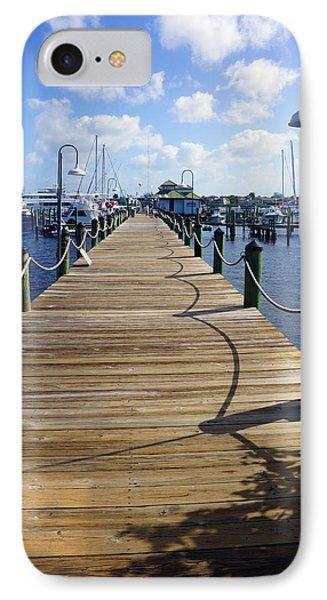 The Naples City Dock IPhone Case